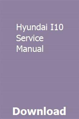Hyundai I10 Service Manual Chilton Manual Manual Vw Passat