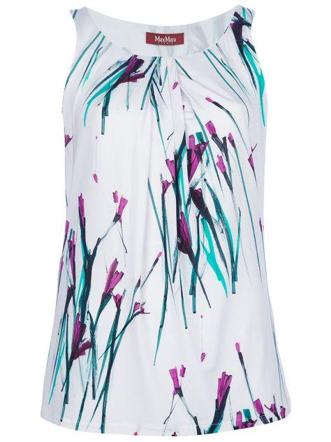 c6488bf1a4ca23 Max Mara Studio Floral Print Vest Top - Twist'n'scout-paleari Online Store  - Farfetch.com