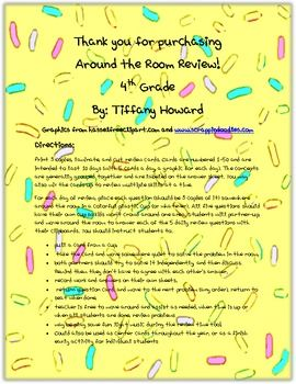 Here is a 4th grade math review activity that gets everyone out of their seats. This is a ten day math review for fourth grade students' end of the...