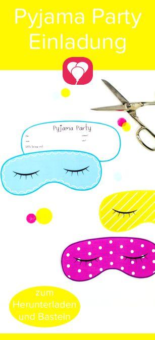 Pyjama Party Einladung Party Einladung Einladung Pyjamaparty Und Party