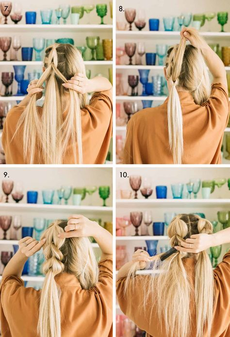 Pull Through Double Braid - A Beautiful Mess