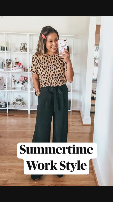 Summertime Work Style