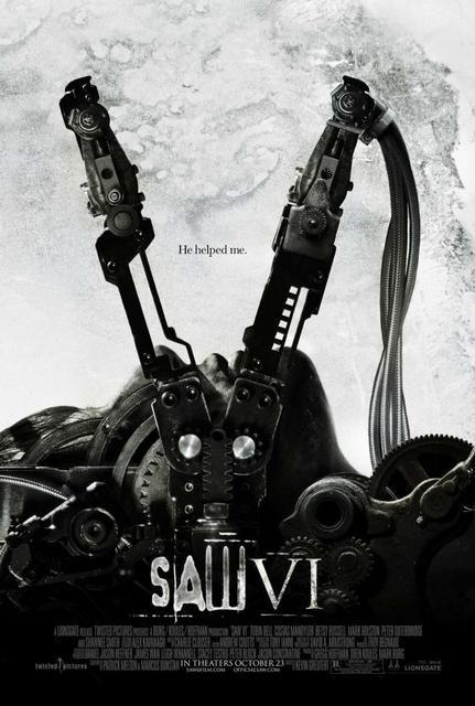 Saw Vi Saw 6 2008 Ver Online Descargar Hd 1080p Castellano Terror Movie Posters Horror Movie Posters Horror Movies