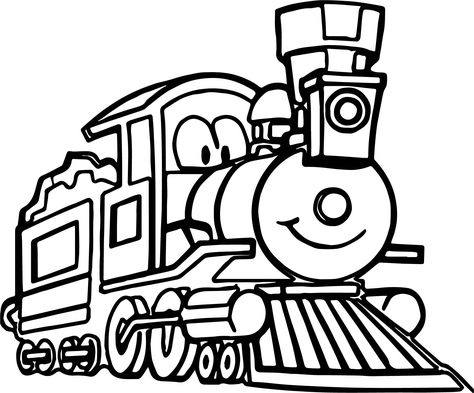 Cartoon Caboose