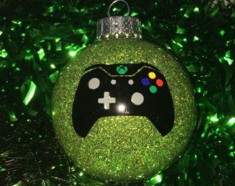 Xbox Christmas Ornaments Etsy Christmas Ornaments Ornaments Christmas Bulbs