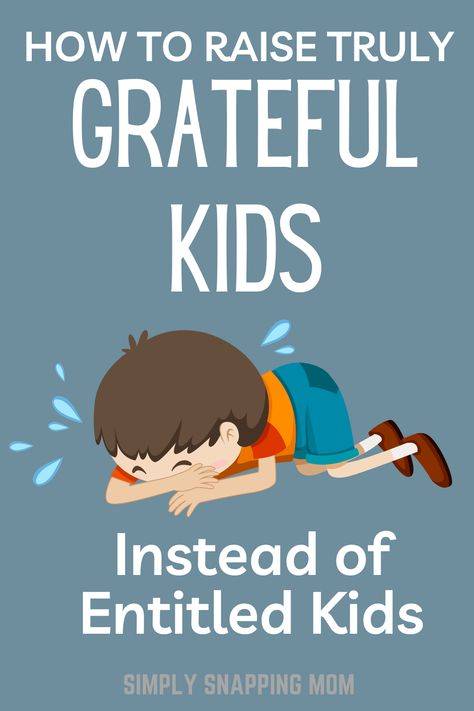 How to Raise Truly Grateful Children