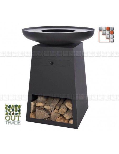 Barbecue Plancha Authentic O O20 OTR36 Barbecue Four et