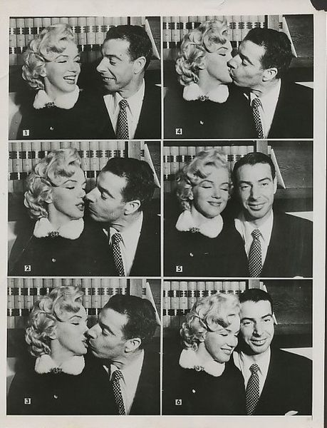 Marilyn Monroe and Joe DiMaggio marilyn monroe Pinterest Joe