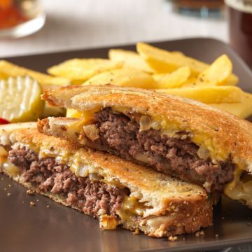 Classic Beef Patty Melt Recipe Patty Melt Beef Patty Patty Melt Recipe
