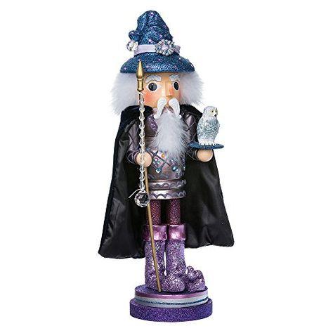 Get $46.99 Kurt Adler 18-Inch Wooden Hollywood Wizard Nutcracker Hurry up!  #18Inch #Adler #Hollywood #Kurt #Nutcracker #Nutcrackers #Wizard #Wooden