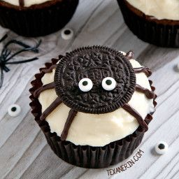 Spider Cupcakes For Halloween Gluten Free Whole Grain All