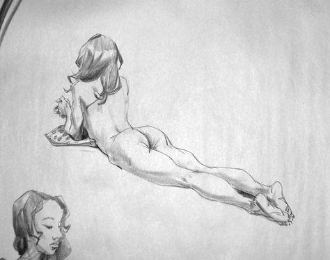 Les nus de Kirk Shinmoto, que l'on connait également sous le nom de Dangerousllama. #illustration #girl