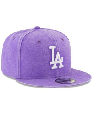 closer at big discount pretty cool New Era Los Angeles Dodgers Neon Time 9FIFTY Snapback Cap - Purple ...