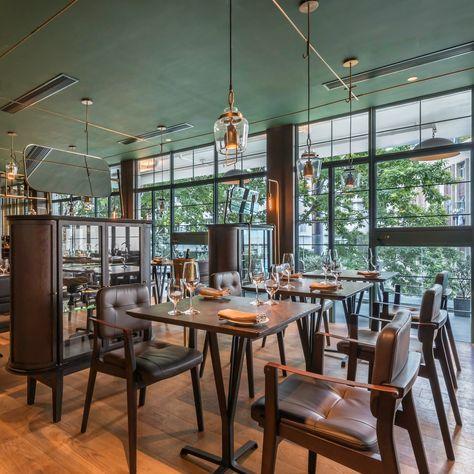 Aberdeen Street Social (Hong Kong), Asia Restaurant Restaurant - innovatives decken design restaurant