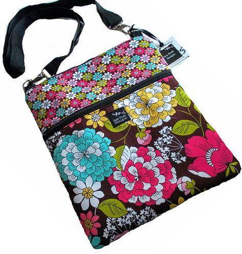 Flowers Red Flowers Rose Deluxe Printing Small Purse Portable Receiving Bag