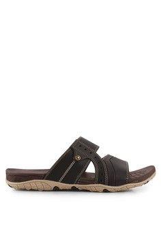 Pria Sepatu Sandal Flip Flop Sandal Kulit Lopez 02 Men