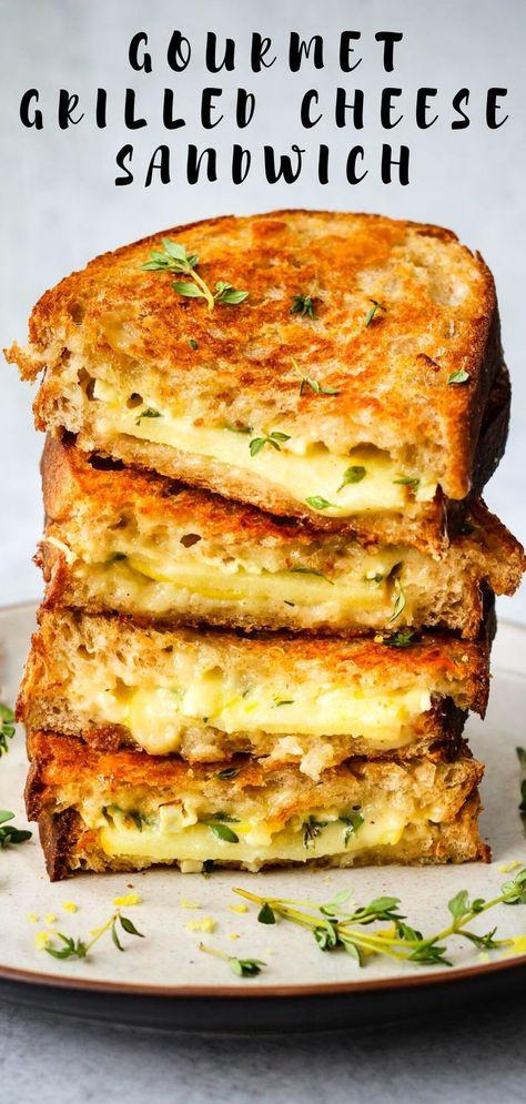 The BEST Gourmet Grilled Cheese Sandwich - Walder Wellness, Dietitian