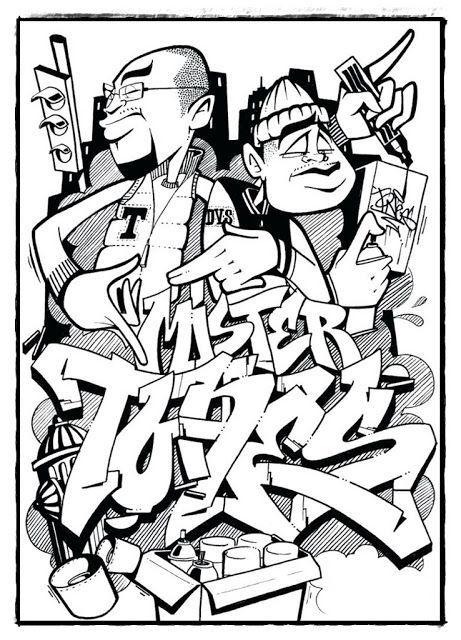 Graffiti Coole Bilder Zum Ausmalen - Malvorlagen