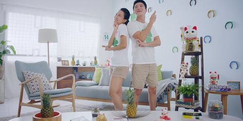 Nothing is too outrageous for a pair of Jay Chou tickets! In this new TVC for Jay Chou's concert, watch how a young couple transform their home into one huge luck magnet just to win the coveted tickets!  Client: StarHub Ltd Agency: Different Pte Ltd Production & Post Production: TheMomentum Pte Ltd Director: Winfred Kwan Director of Photography: Jack Tan Executive Producer: Pervyn Lim Producer: Carolyn Ong Editor: Amanda Leong Colourist & Smoke Artist: Christine Dumaguin Sound Effects…