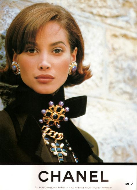 Christy Turlington for CHANEL Couture by Lagerfeld