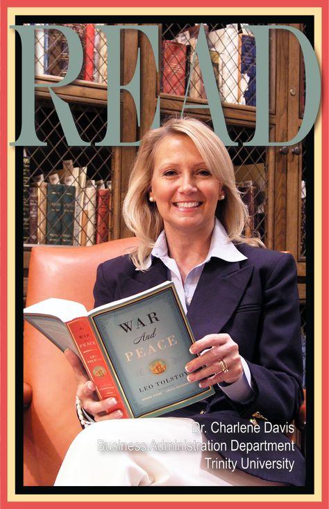 READ Poster, Professor J. Charlene Davis, Business Administration