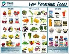 Sample Potassium Rich Foods Chart   Free Documents In Pdf  Low