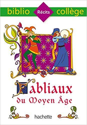 Telecharger Bibliocollege Fabliaux Du Moyen Age Gratuitement Fabliaux Livres A Lire Livre
