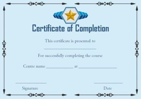 On the job training certificate of completion template certificate on the job training certificate of completion template certificate of completion pinterest training certificate certificate and template yelopaper Choice Image