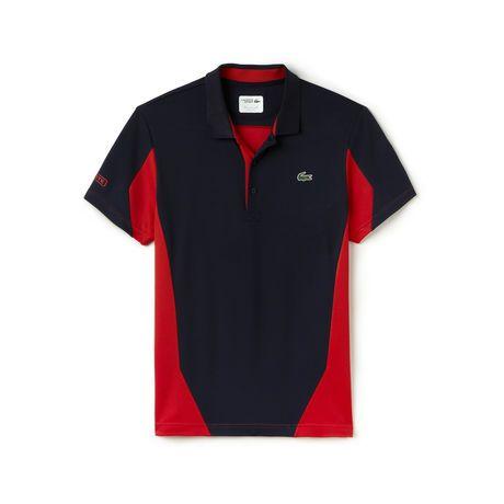 Camiseta SPORT Tennis ultra-dry masculina com color blocks