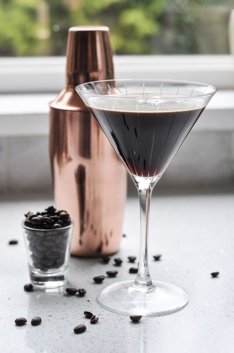 The Espresso Martini. Um, yes. via Tara @ Suburble #martini #espresso