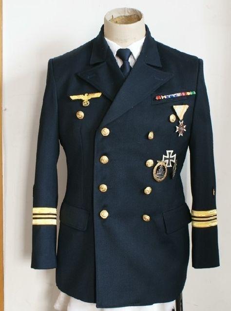 image of german navy uniforms | Мундир офицера военно-морского флота ...