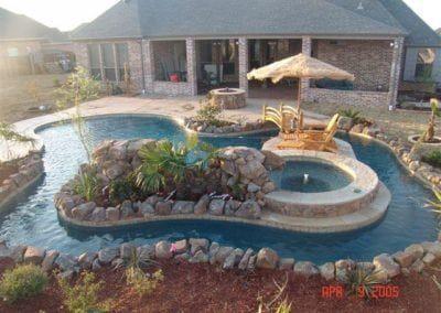 Pools Robertson Pools Coppell Tx Backyard Lazy River Backyard Pool Backyard Pool Designs