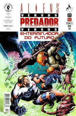 Aliens Vs Predador Vs Exterminador Do Futuro Download De Hqs
