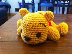 Amigurumi Winnie The Pooh Free Crochet Pattern - Amigurumi Free ... | 179x240