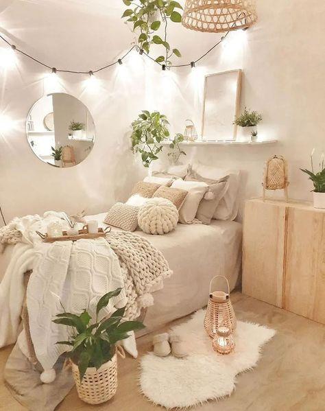 Bedroom Decor For Teen Girls, Cute Bedroom Ideas, Girl Bedroom Designs, Teen Room Decor, Room Ideas Bedroom, Small Room Bedroom, Bedroom Inspo, Cozy Teen Bedroom, Diy Bedroom