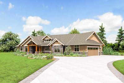Beautiful Northwest Ranch Home Plan 69582am Thumb 34 Ranch House Plans Craftsman House Plans Ranch House