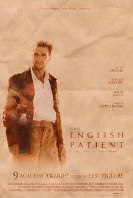 THE ENGLISH PATIENT 27x40 Movie Poster Print BRAND NEW