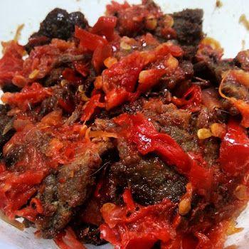 Cara Membuat Dendeng Balado Asli Padang Dendeng Masakan Indonesia Makanan