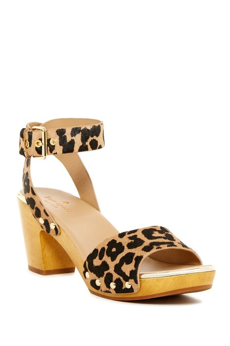 kate spade new york | Kayleigh Genuine Calf Hair Platform Sandal | HauteLook