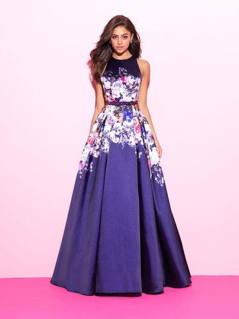 Floral prom dresses, Prom dress
