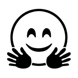 Emoji Hug Stencil Emoji Coloring Pages Insect Coloring Pages Free Stencils