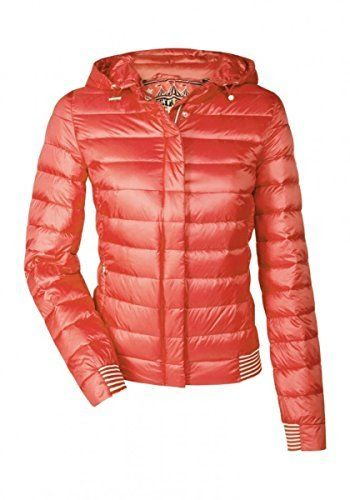 daunenjacke damen pink orange