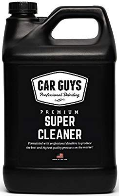 Amazon Com Carguys Super Cleaner The Most Effective All Purpose Cleaner Available On The Market Best For Leather Vinyl Carpet Upholstery Plastic Rubb Bilar
