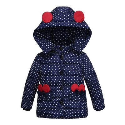 Myszka Minnie Kurtka Jesienno Zima Na Misiu Baby Girl Jackets Kids Outfits Girls Girls Winter Coats