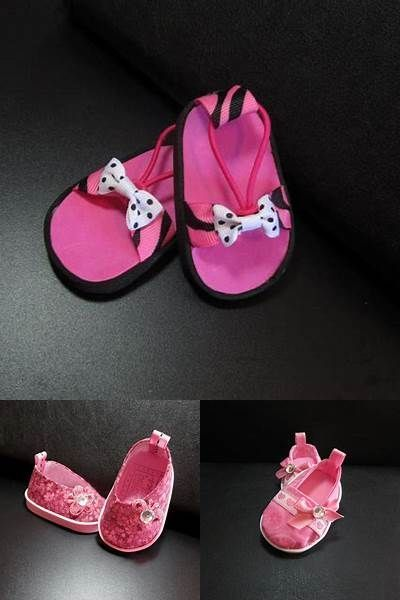 18 Inch Doll Pre-cut Shoe Soles SHAPE 1  2mm Foam and Chipboard Color Mix 2
