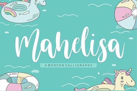 Mahelisa (Font) by Balpirick · Creative Fabrica