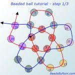 Beaded ball Tutorial