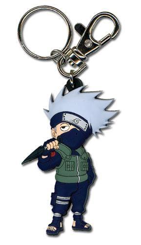 Naruto Shippuden Sd Kakashi Pvc Keychain