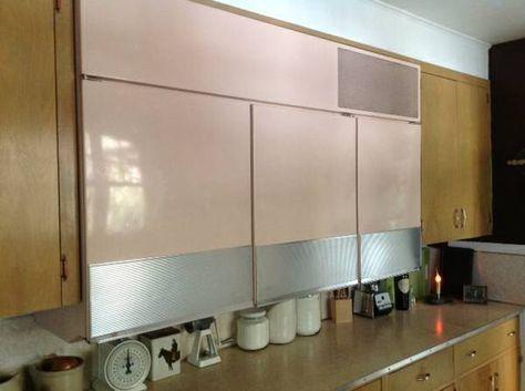 Cool Wall Hung G E Refrigerator Freezer Refrigerator Freezer Groovy Interiors Mid Century Modern House
