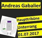 #Ticket  ANDREAS GABALIER 2017 SITZPLÄTZE HAUPTTRIBÜNE TICKETS OLYMPIASTADION MÜNCHEN 2.0 #chf